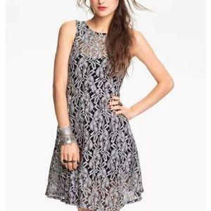 Free People Miles of Lace Dress Sz L worn 1x